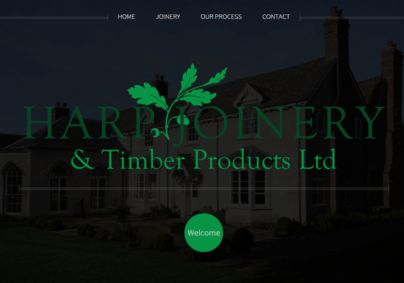 Harp Joinery commissioned a responsive website to market their Bespoke Joinery business & Saw Mill, based in Shropshire.